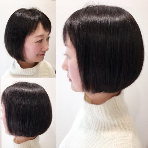 おすすめ人気ヘアスタイルボブ髪型調布美容院