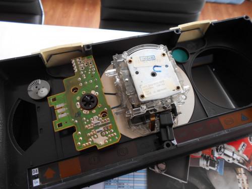 ボルボ240 スピードメータートリップギヤ以外の不調修理