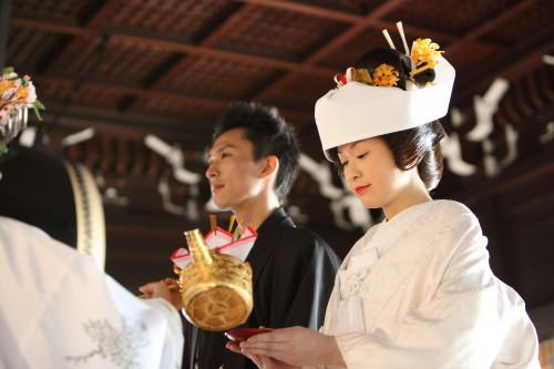 浅草神前結婚式 来春挙式のカップルへ