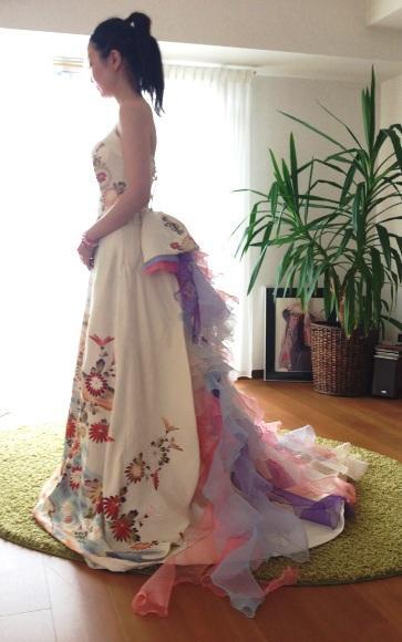 明日香さまのドレス