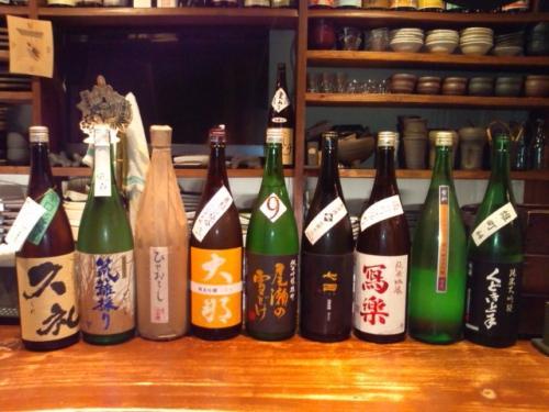 今週は久礼・風の森・七田・寫楽等の新しいお酒が入荷しました!