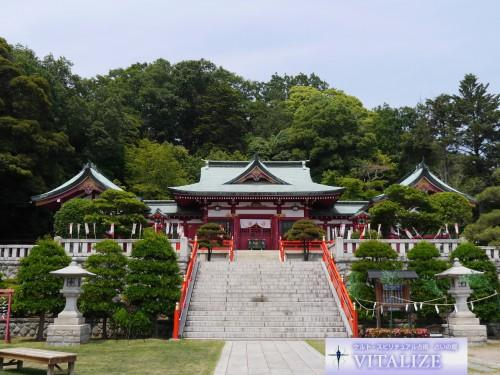 縁結びの神社〜足利織姫神社