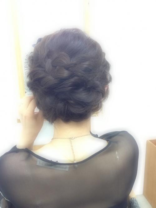 編み込み☆ヘアセット☆