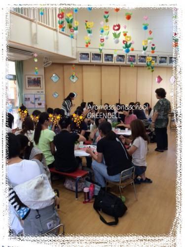 アロマ出張講座で茨城県の幼稚園に行ってきました
