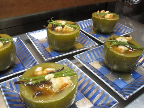 夏の定番人気料理 姫冬瓜の姿煮