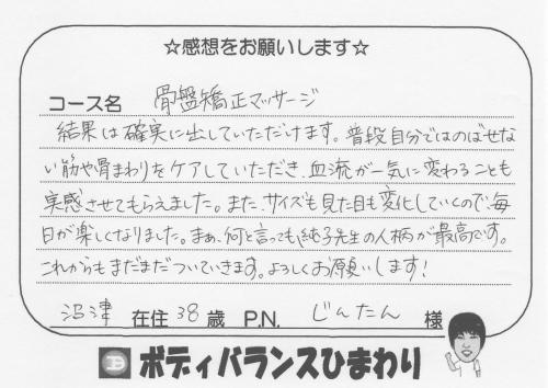 骨盤矯正の口コミ(体験談)編