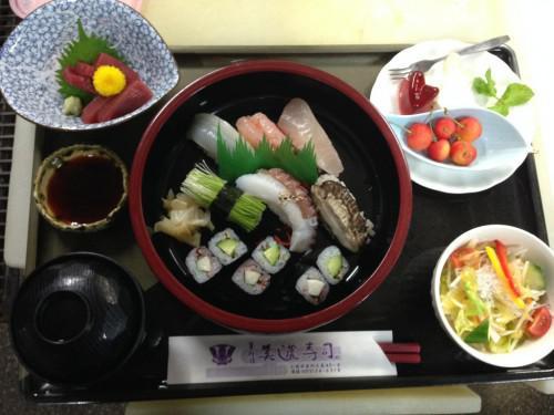 美濃寿司のメニュー紹介 ちょっと変わった定食ヘルシー御膳