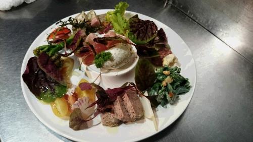 夏野菜とリヨンのオードブル盛り合わせ