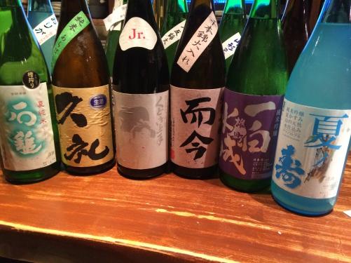 今週の日本酒「而今」「一白水成」「春霞」「くどき上手」入荷!