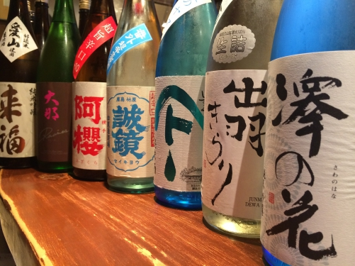 今週の日本酒!(澤の花・やまとしずく・阿櫻・大那・来福)
