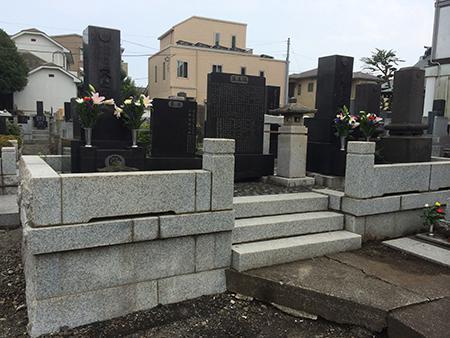 墓地リフォーム工事