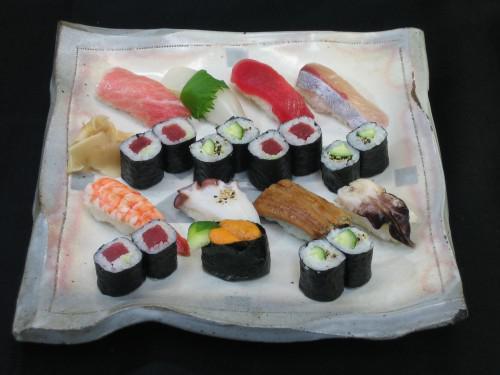 夏休みの家族連れにおすすめな満腹寿司