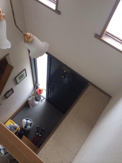 高い所の窓清掃/高所ガラス作業