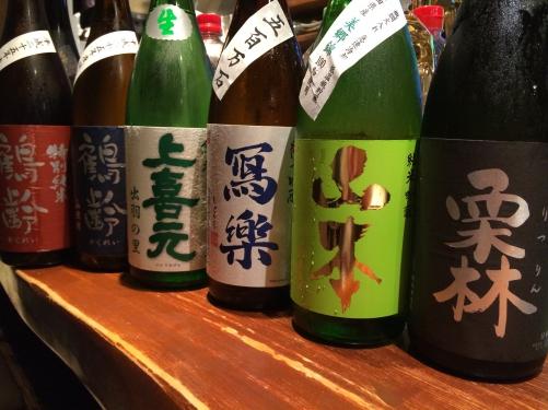 今週入荷の日本酒(山本・寫楽・鶴齢)