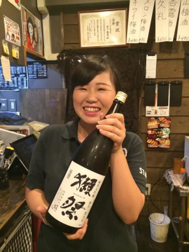 一押し日本酒 獺祭