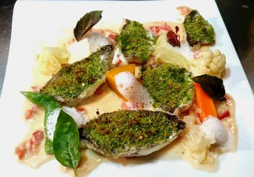 ランチ魚料理