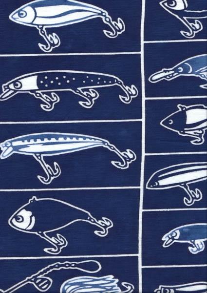 釣り人の収集心をくすぐる手ぬぐい