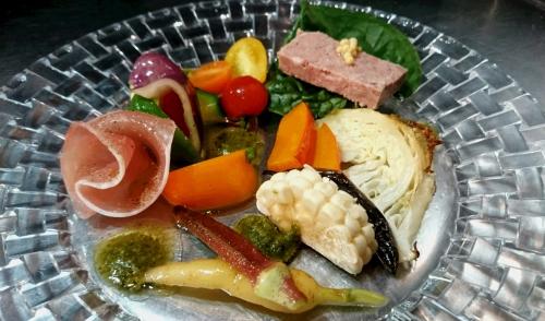 野菜とオードブル