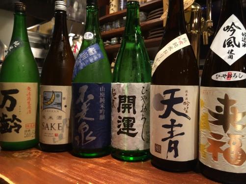 続・今週入荷の日本酒(来福・天青・月山・万齢)
