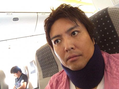 沖縄那覇空港に向けて出発