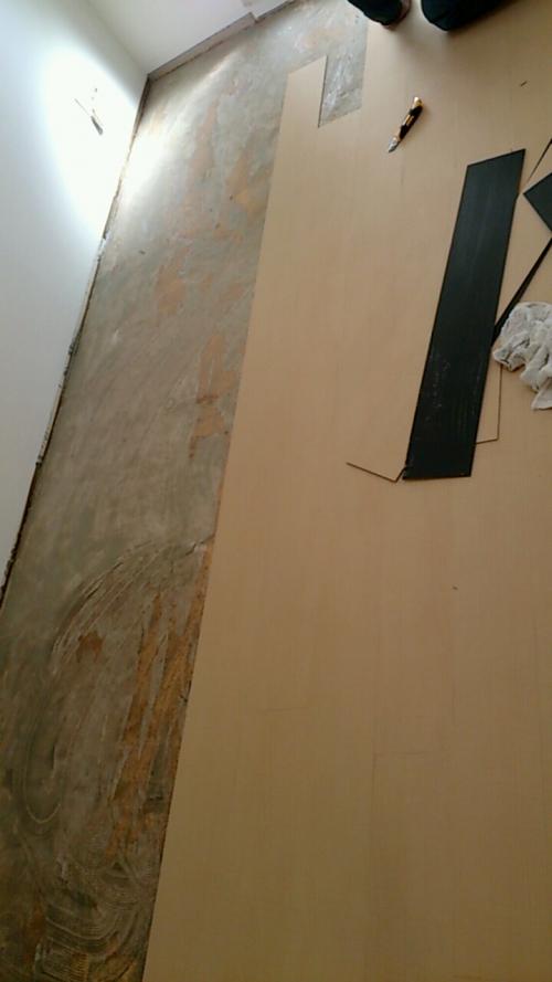 横浜市旭区で床の張り替えリフォーム