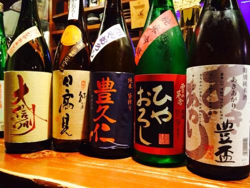 今週の入荷日本酒!(豊盃・日高見・大信州)
