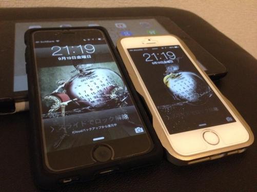 iPhone6を購入、セッティング中