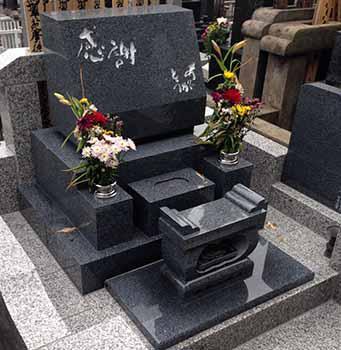 神奈川区「K様」墓地完成写真
