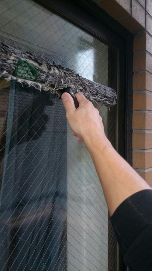 横浜市青葉区の窓ガラス清掃