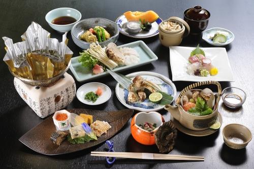秋の気配を感じる季節のコース「松茸御膳」