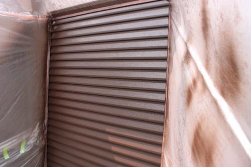 狭山市 雨戸塗装 戸袋塗装