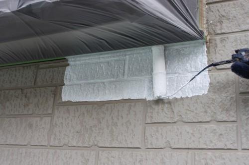川越市 外壁下塗り塗装