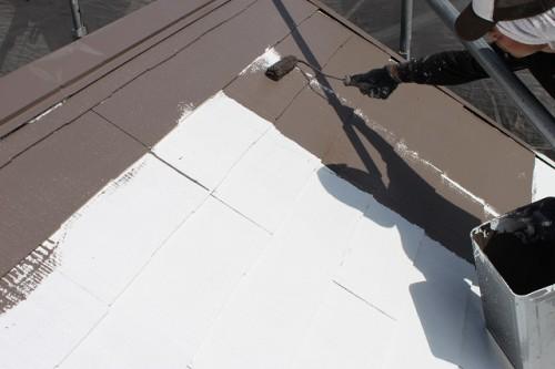 川越市 屋根 遮熱塗装