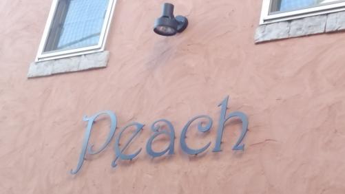 peach  10月の連休!!