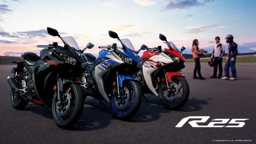 YZF-R25リリース!新型250ccバイク!