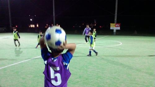 サッカースクール水戸の練習