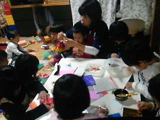 折り紙遊びに夢中☆カラフルなシュリケンに挑戦!!