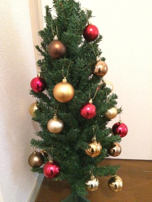 クリスマス準備中