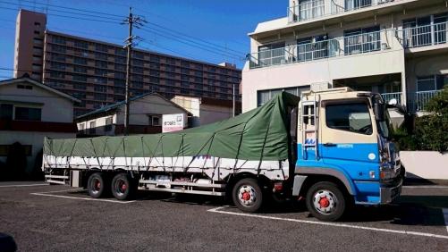 12月よりバス・トラック駐車可能