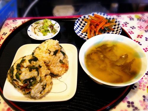 お野菜たっぷりお昼御飯♪