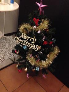 ちょっと早いクリスマスツリー