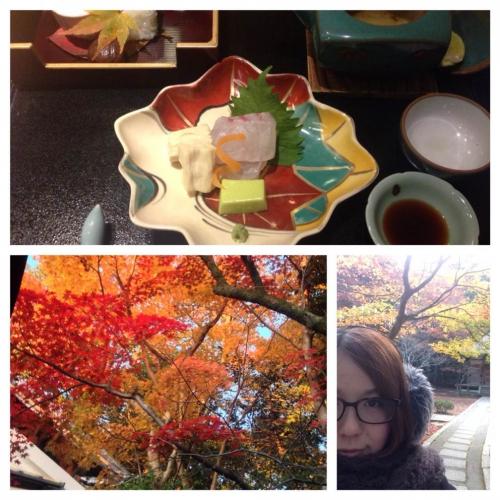 秋の京都旅行♪