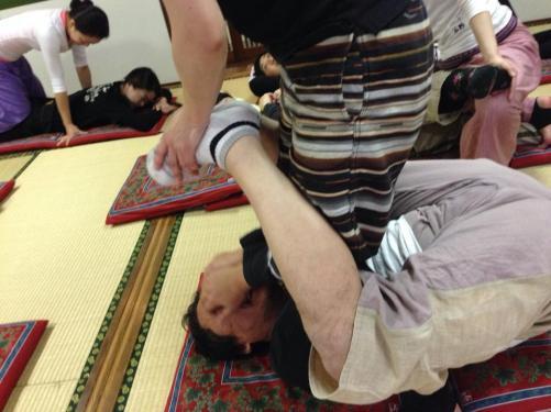 タイ式セラピストの練習会