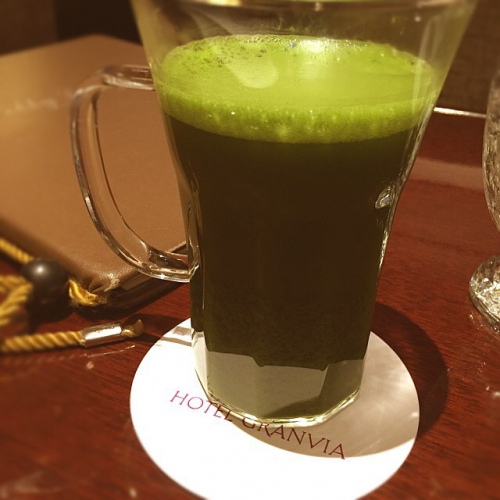 大阪グランヴィアホテルにて
