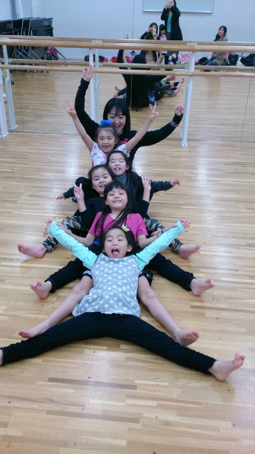 キッズベリーダンス ユメリアクラス