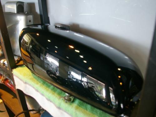 250TR タンク塗装