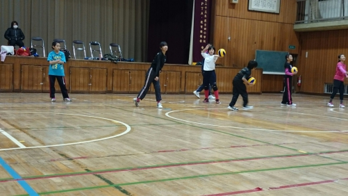 バレーボールスクール12月