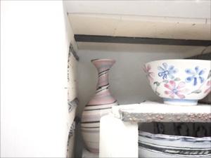 陶芸本の撮影用の作品を小窯で焼き、窯の扉を開けると、、。