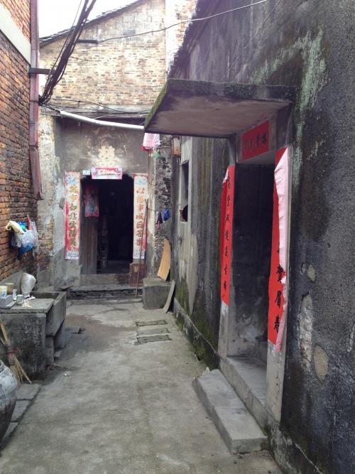 景徳鎮にはまだこんなところも残っています。