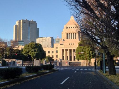 永田町周辺に早朝デリバリー